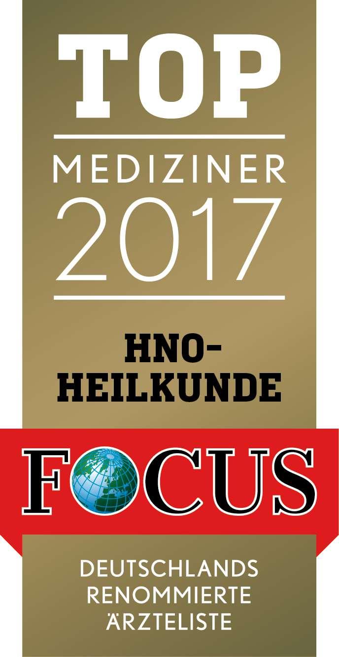 40FCG Mediziner Siegel HNO Heilkunde 2017
