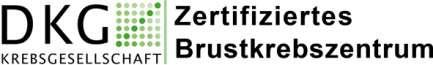 Logo DKG Zertifiziertes Brustzentrum