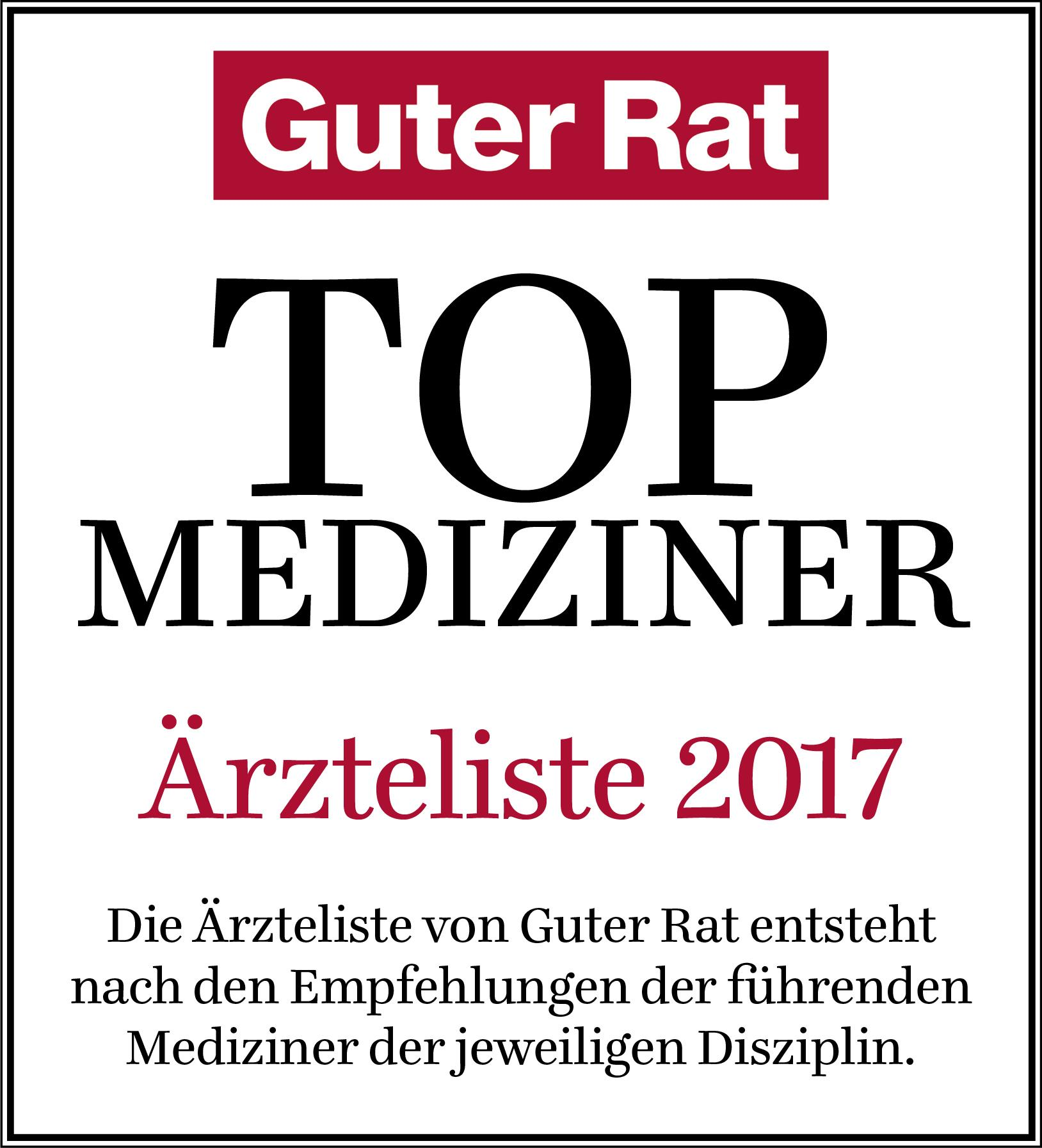 Siegel Guter Rat 2017
