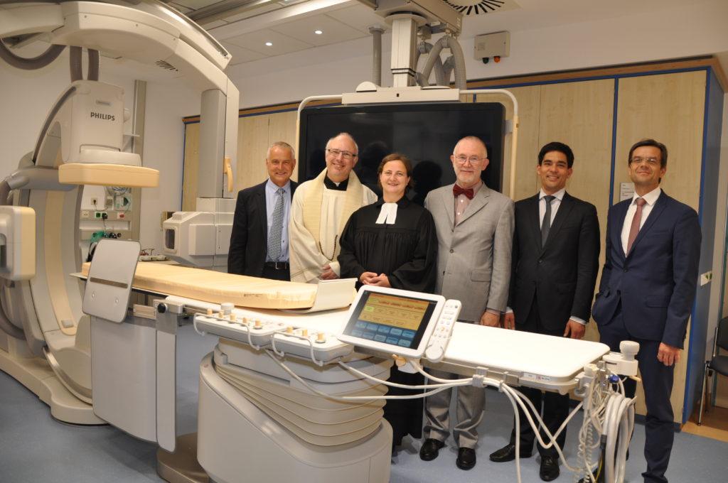 Prof. Hofmann Einweihung Angiographie DSC 5784
