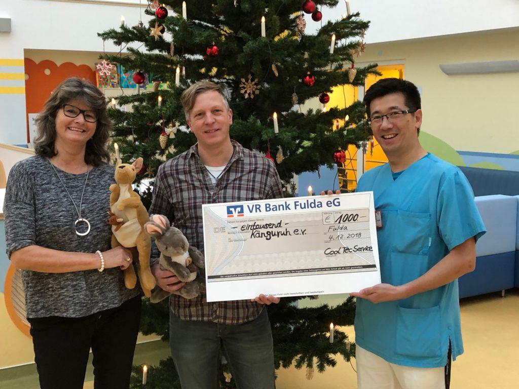 Weihnachtsgeschenke Mitarbeiter.Spenden Statt Geschenke Mitarbeiter Des Fuldaer Unternehmens Cool