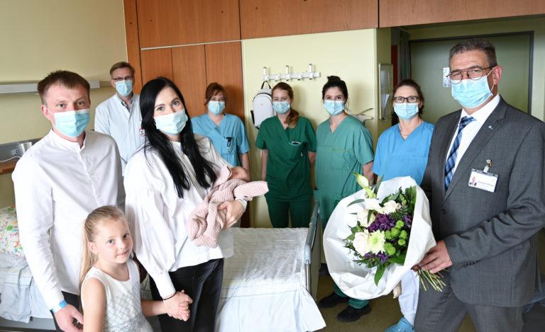 Dr. Hawighorst 1000 Geburt Gruppenbild