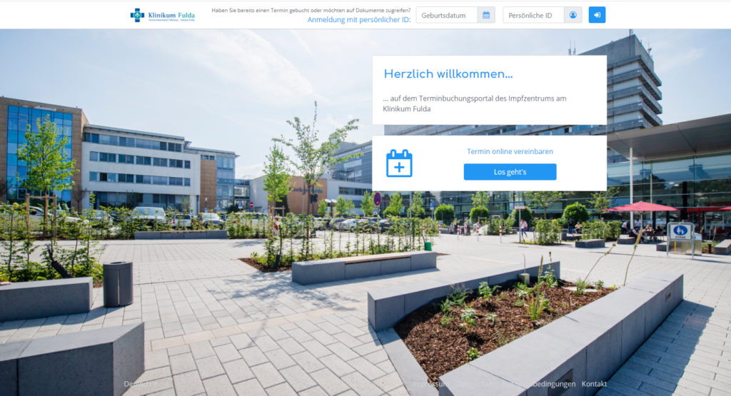 Impf-Portal Klinikum Fulda